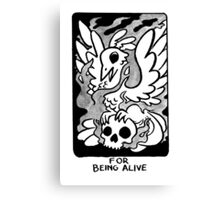 Sigil For Being Alive Canvas Print