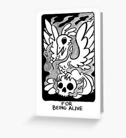 Sigil For Being Alive Greeting Card