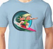 Little Surfer Girl Unisex T-Shirt