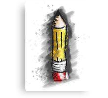 Pencil Art Canvas Print