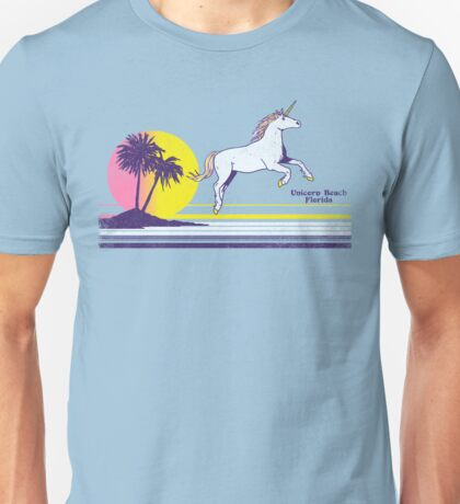 Unicorn Beach Unisex T-Shirt