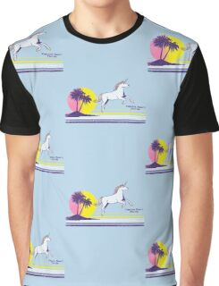 Unicorn Beach Graphic T-Shirt