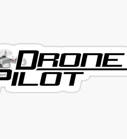 Drone Pilot Special Sticker