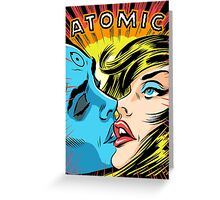 Atomic Love Greeting Card