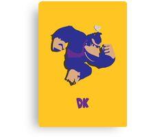 Donkey Kong - Super Smash Brothers Canvas Print