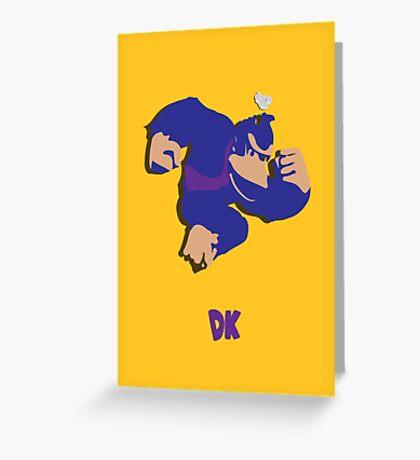 Donkey Kong - Super Smash Brothers Greeting Card