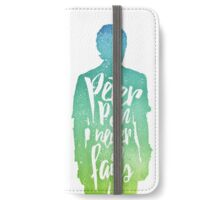 Peter Pan (watercolor);  iPhone Wallet/Case/Skin