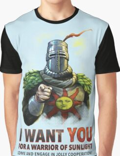 Warrior of Sunlight Recruitment Graphic T-Shirt