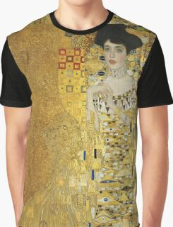 Gustav Klimt  - Portrait of Adele  Graphic T-Shirt