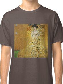 Gustav Klimt  - Portrait of Adele  Classic T-Shirt