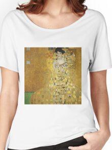 Gustav Klimt  - Portrait of Adele  Women's Relaxed Fit T-Shirt