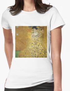 Gustav Klimt  - Portrait of Adele  Womens Fitted T-Shirt