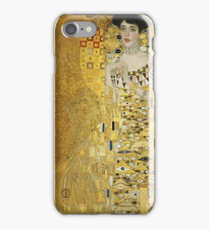 Gustav Klimt  - Portrait of Adele  iPhone Case/Skin