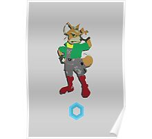 Fox McCloud - Super Smash Brothers Poster