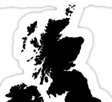 Summer is NOT coming - UK and Ireland(black text) Sticker