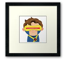 X-Men Animated Series: Cyclops Framed Print