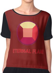 Eternal Flame - Ruby from Steven Universe Chiffon Top