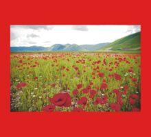 Alpine Wildflowers One Piece - Short Sleeve