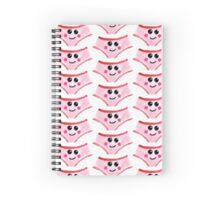 Cute Gouache Panties Spiral Notebook