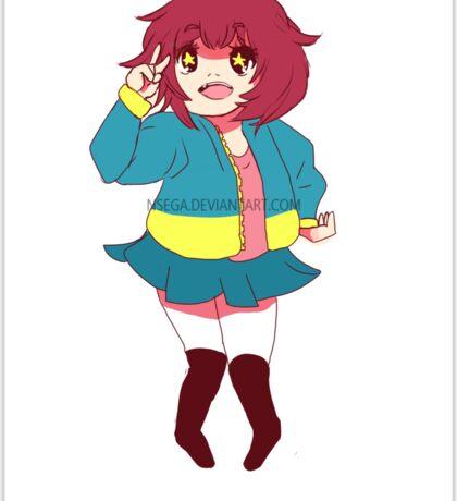 Cute Anime Chibi Sticker