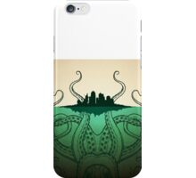 Cthulhu City Sinker iPhone Case/Skin