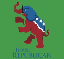 House Republican One Piece - Short Sleeve