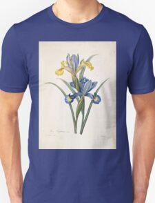 Choix des plus belles fleurs et des plus beaux fruits Pierre Joseph Redouté 1833 116 Beautiful Flowers Finest Fruits T-Shirt