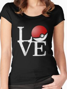Poke Love Women's Fitted Scoop T-Shirt