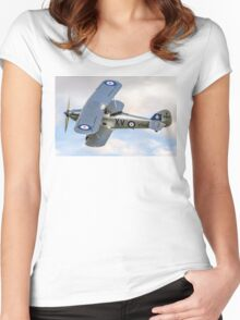 Hawker Hind K5414/XV G-BTVE Women's Fitted Scoop T-Shirt