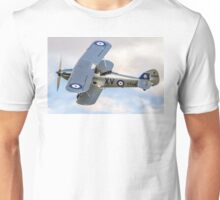 Hawker Hind K5414/XV G-BTVE Unisex T-Shirt