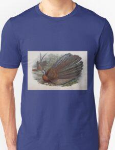 Birds of Asia John Gould 1883 V1 V7 510 Argusianus Argus T-Shirt