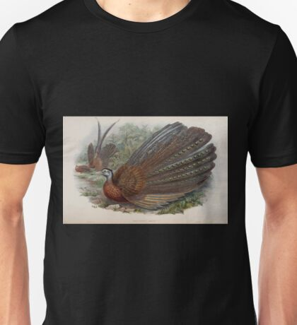 Birds of Asia John Gould 1883 V1 V7 510 Argusianus Argus Unisex T-Shirt