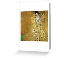 Gustav Klimt - Adele .  Golden Gustav Klimt  Greeting Card