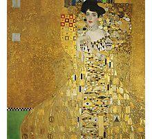 Gustav Klimt - Adele .  Golden Gustav Klimt  Photographic Print