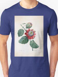 Choix des plus belles fleurs et des plus beaux fruits Pierre Joseph Redouté 1833 065 Beautiful Flowers Finest Fruits T-Shirt