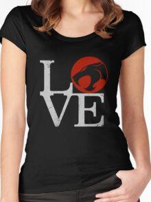LOVE HOOOOO! Women's Fitted Scoop T-Shirt