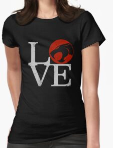 LOVE HOOOOO! Womens Fitted T-Shirt