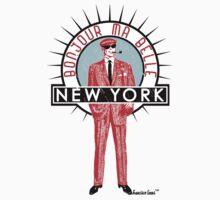 Bonjour ma belle New York by Francisco Evans ™ Kids Tee