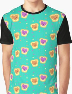 Sweet Lovers - Pattern Graphic T-Shirt