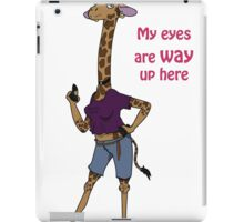 Giraffe Problems iPad Case/Skin
