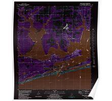 USGS TOPO Map Alabama AL Orange Beach 304756 1980 24000 Inverted Poster