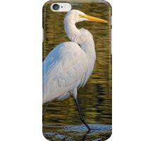 Great Egret Stroll      iPhone Case/Skin