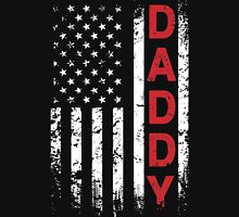 American DADDY Flag T-Shirts & Hoodies Womens Fitted T-Shirt