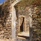 Shaded Entry Crete - Greece by mikequigley