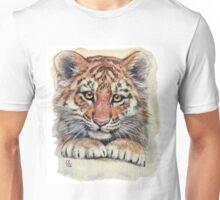 Cute Tiger Cub 903 Unisex T-Shirt