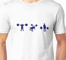 Powerlifting Unisex T-Shirt