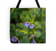 Ground-Ivy Blossoms Tote Bag