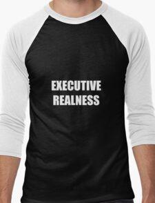 Executive Realness Men's Baseball ¾ T-Shirt