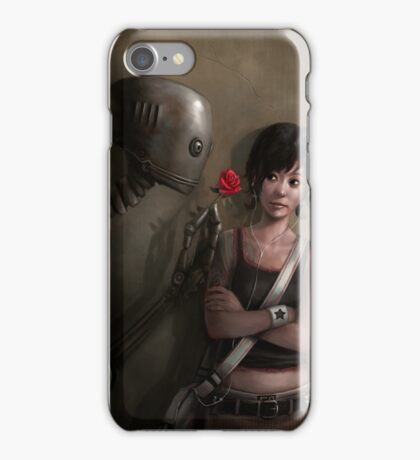 Robot In Love iPhone Case/Skin
