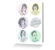 Cirque de Strokes Greeting Card